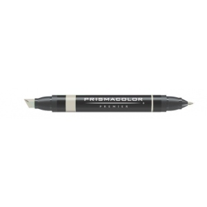 Prismacolor® Premier Art Marker Parchment: Black/Gray, Double-Ended, Alcohol-Based, Dye-Based, Extra Broad Nib, Fine Nib
