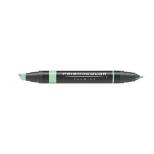 Prismacolor® Premier Art Marker True Green; Color: Green; Double-Ended: Yes; Ink Type: Alcohol-Based, Dye-Based; Tip Type: Extra Broad Nib, Fine Nib; (model PM166), price per each