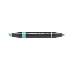 Prismacolor® Premier Art Marker Jade Green: Green, Double-Ended, Alcohol-Based, Dye-Based, Extra Broad Nib, Fine Nib, (model PM141), price per each