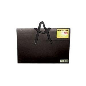 "Star® Sable Portfolio 23"" x 31"": Black/Gray, 2"", Sable, 23"" x 31"""