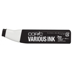 Copic® Various Special Black Ink: Black/Gray, Alcohol-Based, Refill, (model 110-V), price per each