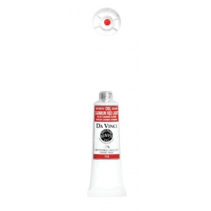 Da Vinci Artists' Oil Color Paint 37ml Cadmium Red Light: Red/Pink, Tube, 40.6 ml, Oil