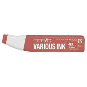 Copic® Various Reddish Brass Ink: Brown, Red/Pink, Alcohol-Based, Refill, (model E17-V), price per each