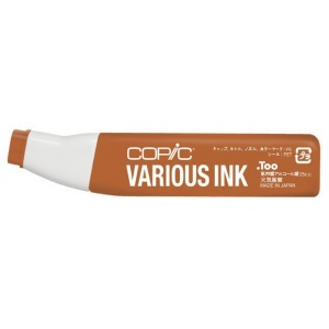 Copic® Various Baked Clay Ink: Brown, Alcohol-Based, Refill