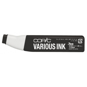 Copic® Various Toner Gray No. 10 Ink: Black/Gray, Alcohol-Based, Refill