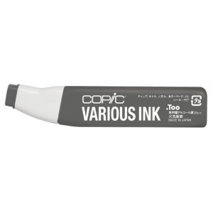 Copic® Various Toner Gray No. 8 Ink: Black/Gray, Alcohol-Based, Refill