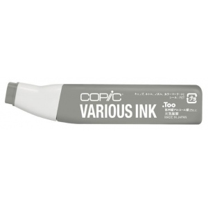 Copic® Various Warm Gray No. 6 Ink: Black/Gray, Alcohol-Based, Refill, (model W6-V), price per each