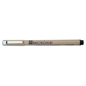 Pigma® Micron® Black Fine Line Design Pens .30mm: Black/Gray, Pigment, .3mm, Fine Nib, (model XSDK02-49), price per each