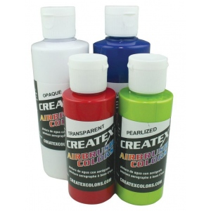 Createx™ Airbrush Paint 2oz Pearlescent Plum: Purple, Bottle, 2 oz, Airbrush