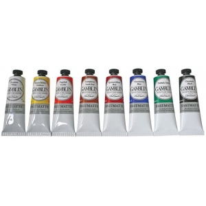 Gamblin Artists' Grade FastMatte Alkyd Oil Color 37ml Phthalo Green: Green, Tube, 37 ml, Alkyd Oil, (model GF1540), price per tube
