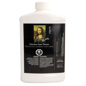 Mona Lisa™ Odorless Thinner 32 oz. (Canadian Labeling): 32 oz, Solvents, (model ML190032CN), price per each