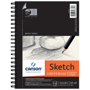 Canson® Artist Series Universal™ Sketch Pad