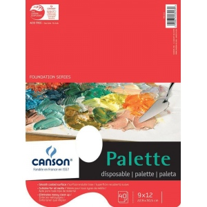 Canson® Foundation Series Disposable Palette Sheet Pad