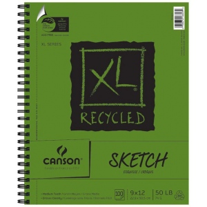 Canson® XL® Recycled Sketch Pad (Side Wire)