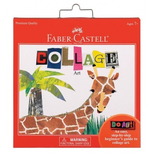 Faber-Castell® Do Art Collage Set: Kit, Children's Art Kit, (model FC14569), price per set
