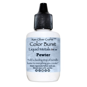 Ken Oliver - Color Burst - Liquid Metals - Pewter