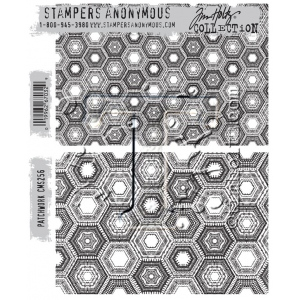 Stampers Anonymous - Tim Holtz - Patchwork Stamps