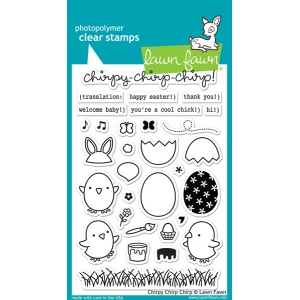 Lawn Fawn - Stamps - Chirpy Chirp Chirp Stamps