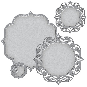 Spellbinders - Nestabilities - Deco Elements - Labels 50 Decorative Elements