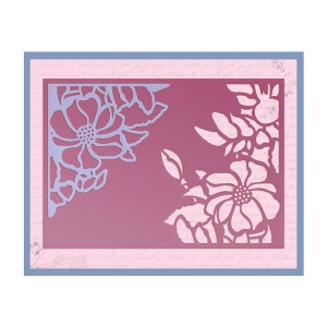 Couture Creations - Frame Die - Magnolia Wreath Die