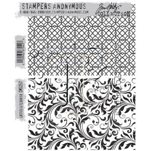 Stampers Anonymous - Tim Holtz - Herringbone Stamps