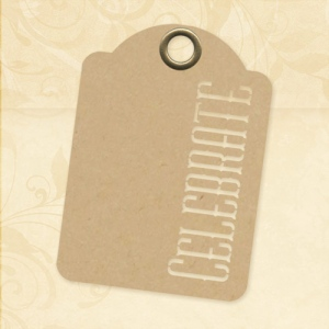 Graphic 45 - Staples - Celebrate - ATC Kraft Tags