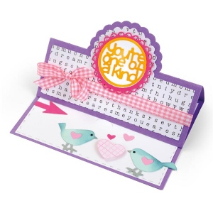 Sizzix - Framelits Die Set 19 Pack - Card - Scallop Circle Stand-Ups by Stephanie Barnard
