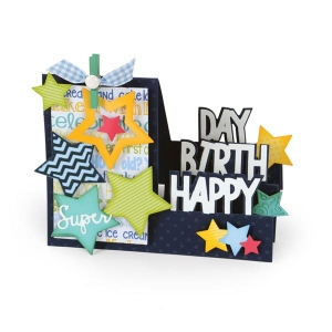Sizzix - Triplits Die Set 13 Pack - Stars by Stephanie Barnard