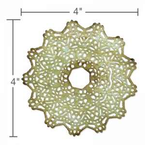Sizzix - Tim Holtz Alterations - Thinlits - Doily Die #2