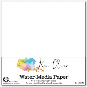Canvas Corp - Ken Oliver - Water-Media Paper - 6x6