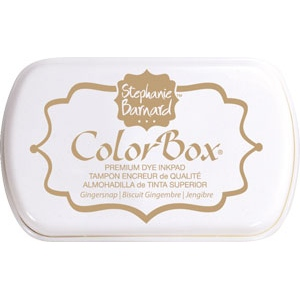 Clearsnap - ColorBox Premium Dye Ink by Stephanie Barnard - Gingersnap