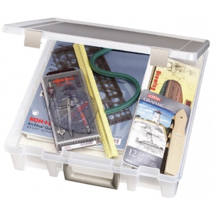 Artbin Super Satchel™ 1 Compartment Clear