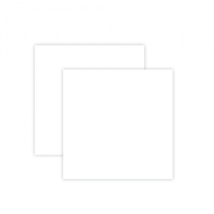 Spellbinders - Platinum Pack 7 - 6x6 Craft Foam Sheets - White - 2 Pieces