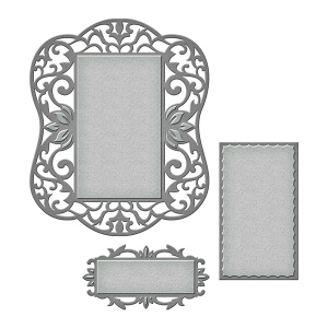 Spellbinders - Nestabilities - Label 54 Decorative Element Die