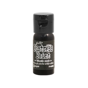 Ranger - Tim Holtz - Distress Paint Flip Cap - Black Soot