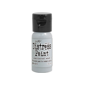 Ranger - Tim Holtz - Distress Paint Flip Cap - Weathered Wood