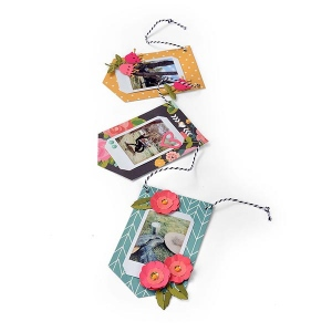 Sizzix - Thinlits Die Set - 9 Pack - Photo Banner by Lynda Kanase