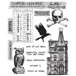 Stampers Anonymous - Tim Holtz - Regions Beyond Stamps