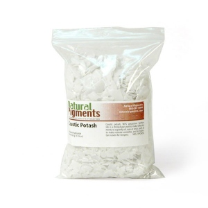Natural Pigments Caustic Potash (potassium hydroxide)