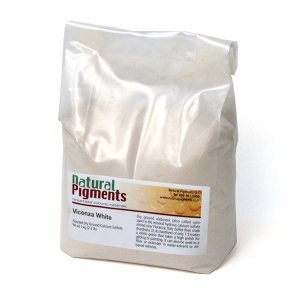 Natural Pigments Vicenza Earth Pigment/Color White
