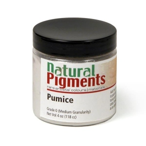 Natural Pigments Pumice (Medium Grade) (4 oz vol)