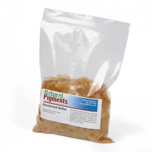 Natural Pigments Platina Dewaxed Shellac Flakes (250 g)