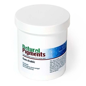 Natural Pigments Gum Arabic (Powder) - the basis of the best watercolors