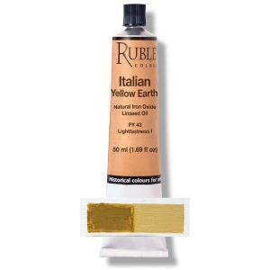 Rublev Colours Italian Yellow Earth 50 ml