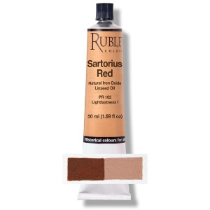 Natural Pigments Red Sartorius Earth 50 ml