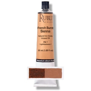 Natural Pigments French Burnt Sienna 50 ml