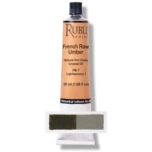 Rublev Colours French Raw Umber 50 ml