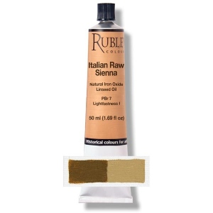 Natural Pigments Italian Raw Sienna 50 ml