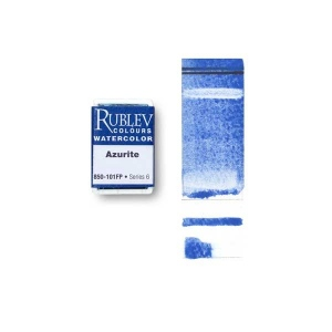 Rublev Colours Azurite (Full Pan) - Color: Blue