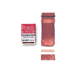 Natural Pigments Ercolano Red (Full Pan) - Color: Red